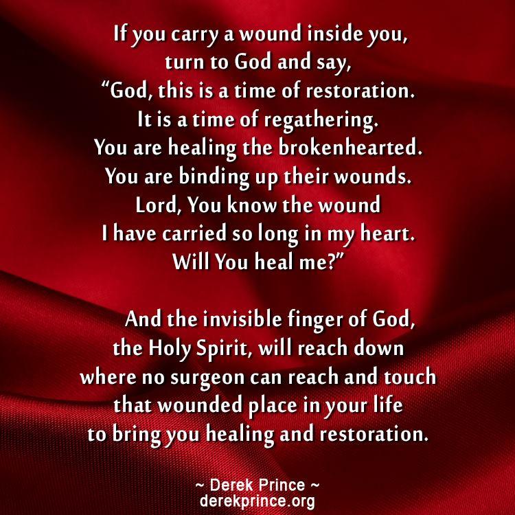 How can god heal my broken heart